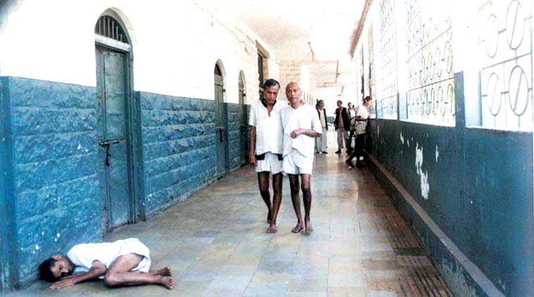At the mental hospital in Thane. There are no reliable figures on the number of the mentally ill in India.  (Express Photo by Amol Shetge/Archive)