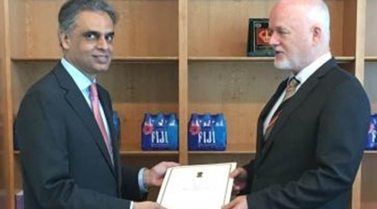 United nations, General Assembly President-elect, un general assembly president india, peter thomson india visit, india General Assembly President-elect, peter thomson fiji, Syed Akbaruddin peter thomson,