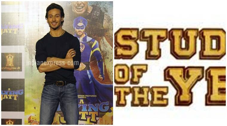 Tiger Shroff, Soty 2, Tiger Shroff Soty 2, tiger Shroff with Soty2, Soty, Tiger shroff soty, Student of the year 2, Tiger Shroff Student of the year 2, tiger Shroff in Soty 2, Tiger Shroff SOty 2 movie, Karan Johar, Entertainment