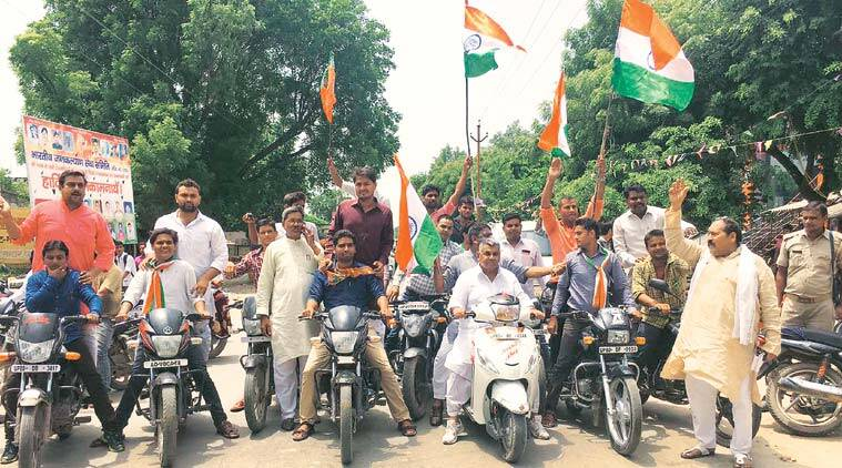 tiranga yatra news, lal chowk news, india news, indian express news