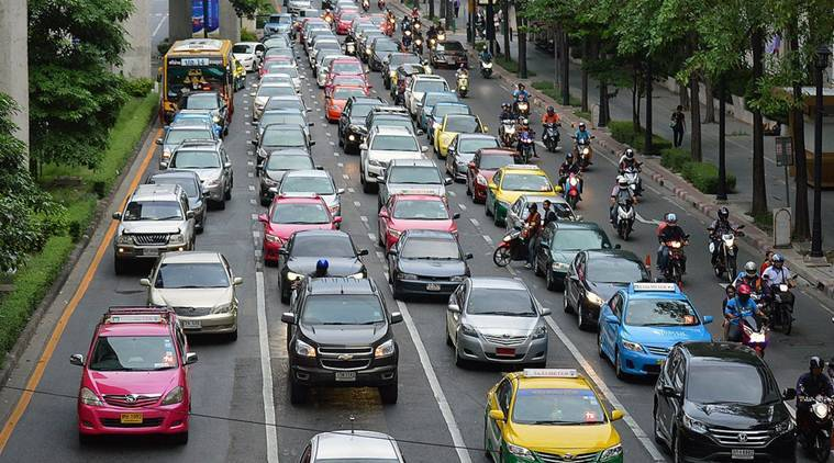 traffic jam, cancer, air pollution, air pollution cancer, traffic jam cancer, toxic fumes cancer, air pollution carcinogenic, health news, latest news