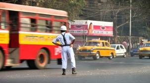 LED-fitted uniforms to ensure safety of Kolkata traffic police