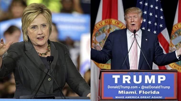 Hillary clinton, Clinton, Donald Trump, US elections, US presidential elections 2016, US presidential elections, US polls, US, United states, Clinton leads trump, Poll survey, world news