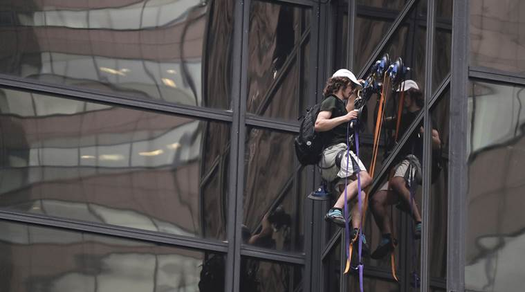 Police charge U.S. teen over dramatic Trump Tower climb
