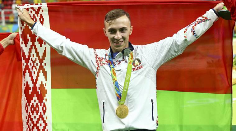 Trampoline: Belarussian Hancharou wins men's gold
