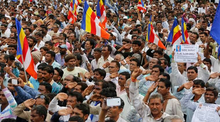 una, una flogging, una protests, dalit protests, dalit protests una, una arrests, una dalit flogging, gujarat dalit protest, gujarat dalit suicide attempts, gujarat dalit deaths, dalit attack, dalit atrocities, gujarat news, india news, latest news