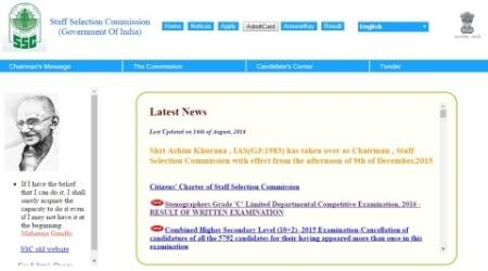 SSC CGL 2016: How to download admit card for yourregion