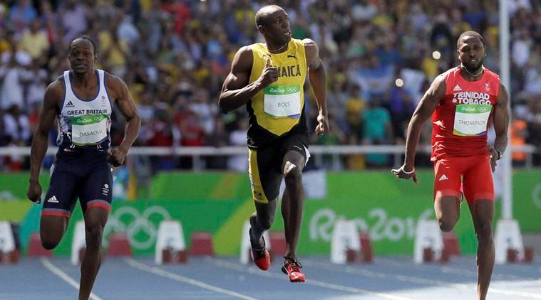 Usain Bolt wins men's 100m final gold in 9.81 seconds ...