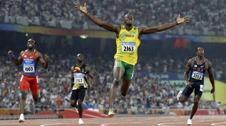 Usain Bolt Gold Medal 100m 200m