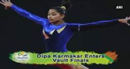 Rio Olympics 2016: Dipa Karmakar Qualifies For Vault Finals
