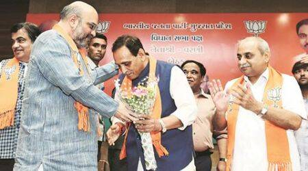Amit's Shah of Gujarat is loyalist Vijay Rupani