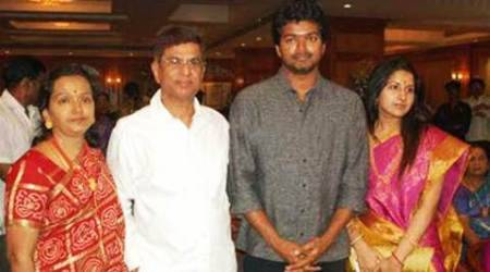 S.A. Chandrasekar, Vijay father, Vijay father chandrasekar, Vijay film, Vijay, Vijay news, S.A. Chandrasekar hospitalised