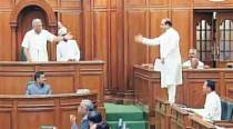 In Delhi House, 3-man Opposition leader Vijender Gupta says it's lonely at top