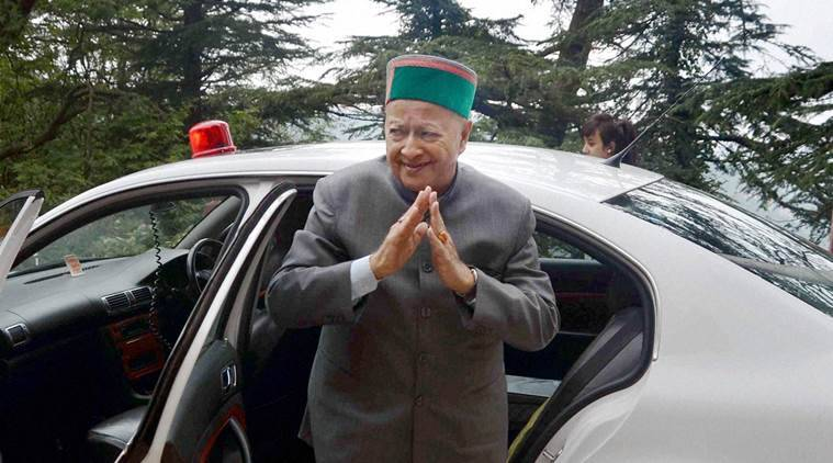 Virbhadra Singh, Virbhadra Singh DA case, DA case against Virbhadra Singh, Himachal pradesh CM, Enforcement Directorate on Virbhadra Singh DA case, indian express news
