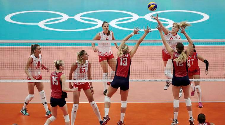 Serbia women's volleyball team, Serbia vs US Volleyball, Volleyball, Serbia Rio, Rio 2016 Olympics, Rio, Olympics