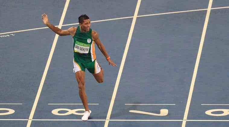 Wayde van Niekerk, Wayde van Niekerk South Africa, Wayde van Niekerk 400m record, Wayde van Niekerk record, Wayde van Niekerk sprint record, Wayde van Niekerk Rio record, Wayde van Niekerk Rio, Rio 2016 Olympics, Rio Olympics, Rio, sprint, Olympics