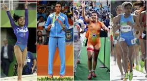 Woman power saves India blushes