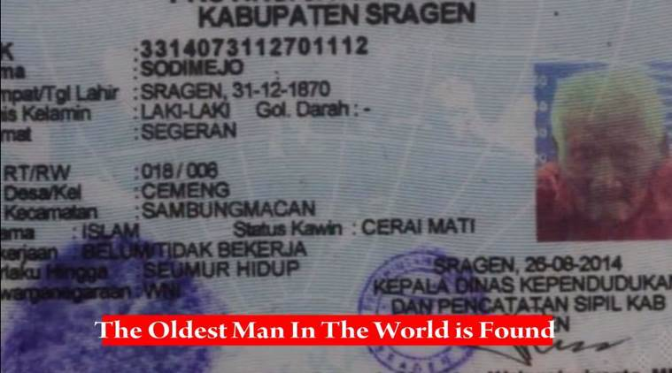 world's oldest person, world oldest man, oldest man in world, oldest person in world, oldest living person ever, oldest living person indonesia, indonesia news, world news, international news, latest news,