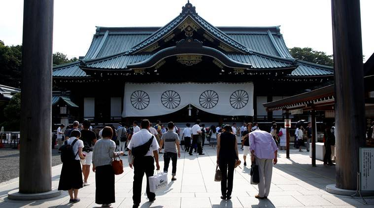 China, world war II, world war II anniversary, Japanese leaders, Yasukuni Shrine, japan Yasukuni Shrine, world news