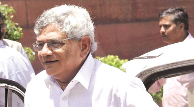 Sitaram Yechury, kashmir unrest, kashmir crisis, kashmir issue, cpm, Sitaram Yechury on kashmir, kashmir Sitaram Yechury, indian express news, india news