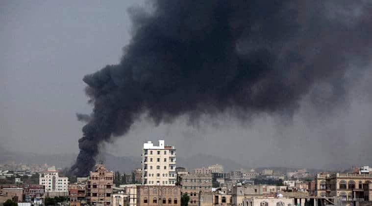 yemen, yemen airstrikes, sanna, sanna attack, yemen sanna, Abedrabbo Mansour Hadi, latest news, latest world news