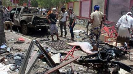 IS suicide attack in Yemen kills 54 government fighters