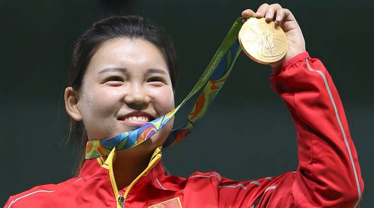Zhang opens Olympic account for China
