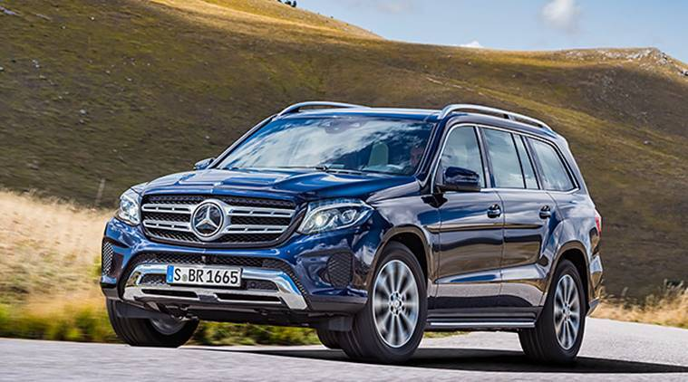 SUV 'GLS 400 4MATIC, Mercedes, Mercedes Benz, petrol version of mercedes, mercedes petrol car, business news, indian express
