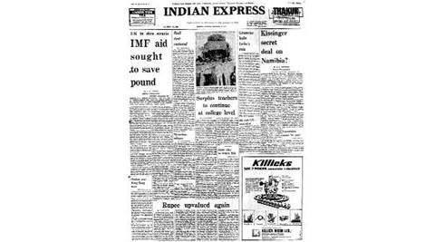 Indian express 40 years ago, British journalist David Rabkin , British journalist sentenced, Russia, India, India-russia, Mi-G, MIG-21 super fighter , Indira Gandhi, UN assembly, soviet union, Indian express news