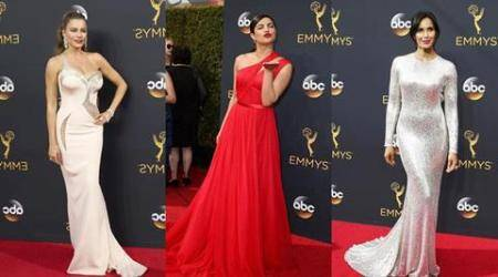 Sofia Vergara, Priyanka Chopra, Padma Lakshmi: Here's what the stars wore on Emmy 2016 red carpet