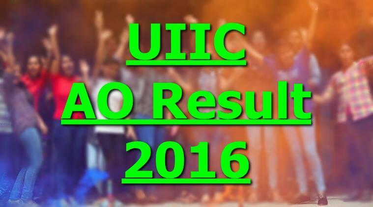 UIIC, UIIC AO result, UIIC AO result 2016, UIIC result, AO UIIC, UIIC 2016, UIIC result 2016, UIIC AO, UIIC recruitment result, UIIC interview result, UIIC interview result, UIIC ao interview result, UIIC AO interview, UIIC AO 2016, united india insurance company, recruitment news, education news, indian express
