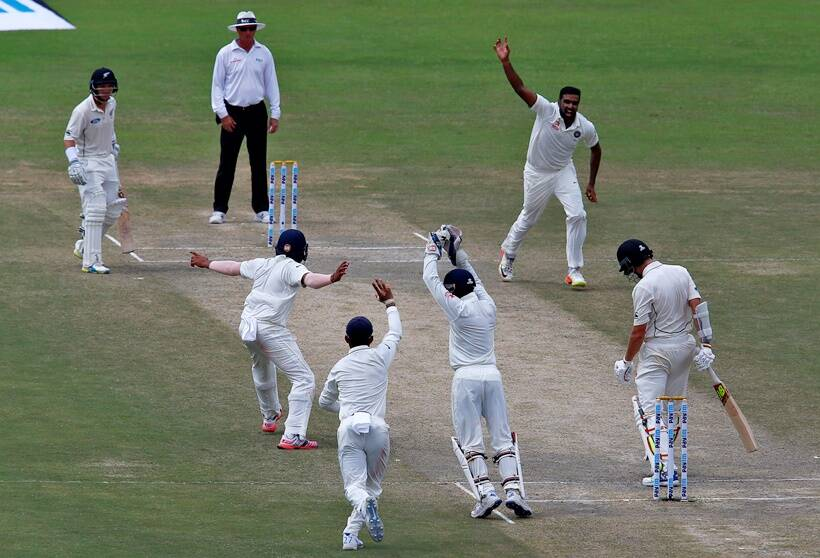 India post 252/4 at lunch, lead NZ by 308 run