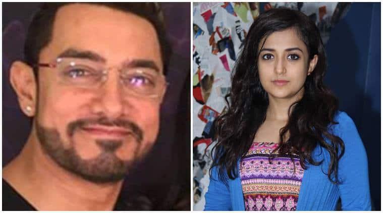 Aamir Khan, Aamir Khan secret superstar, Aamir Khan next, Aamir Khan heroine, Aamir Khan leading lady, Aamir Khan next secret superstar, Aamir Khan monali thakur, monali thakur, Aamir Khan dangal, Aamir next movie, Entertainment, indian express, indian express news