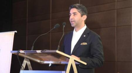 Panjab University, Abhinav Bindra, Arun Kumar Grover, Abhinav Bindra Visiting faculty in Panjab University, Panjab University News, latest news, India news, Punjab news
