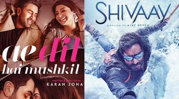 Image result for Shivaay'  'Ae Dil Hai Mushkil