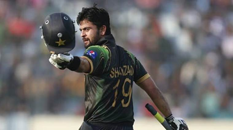 13-Test Pakistan opener Ahmed Shehzad charged over positive test