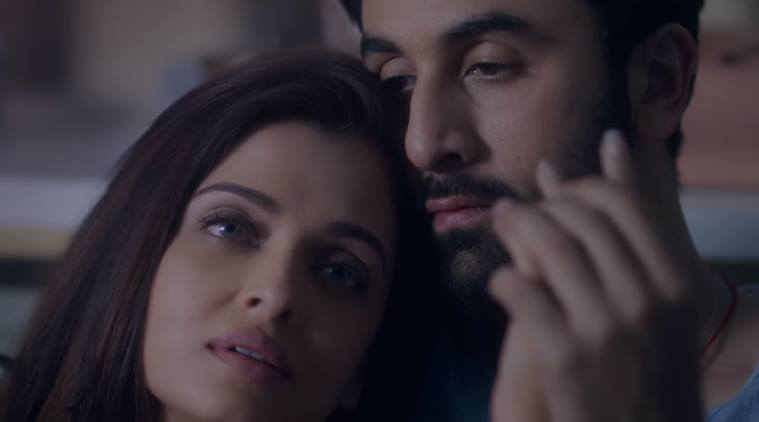 Ae Dil Hai Mushkil, Ae Dil Hai Mushkil song, Aishwarya Rai bachchan, Ranbir Kapoor, Aishwarya rai, Ranbir, Aishwarya, Ranbir Aishwarya, Aishwarya Ranbir, Bulleya, Aishwarya Ranbir Chemistry, Aishwarya Ranbir love, Entertainment, indian express, indian express news, Aishwarya Ranbir hot, aishwarya ranbir sexy, bollywood news