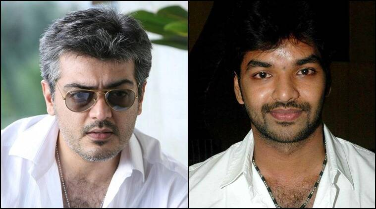 Tamil actors Ajith and Jai