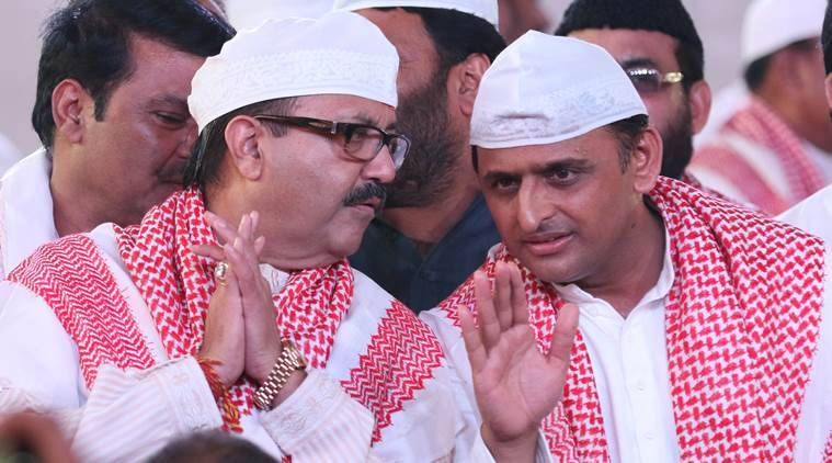Akhilesh Yadav, Amar Singh, Samajwadi Party, SP, SP rift, Mulayam Singh Yadav, Deepak Singhal, Prajapati, Raj Kishore Singh, UP politics, UP elections, UP news, India news, latest news, opinion, Indian express