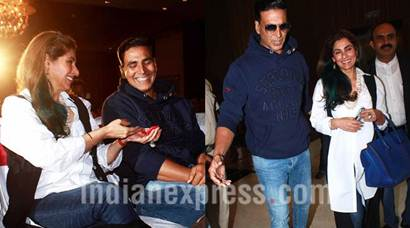 Akshay Kumar spends quality time with mother-in-law Dimple Kapadia, see pics