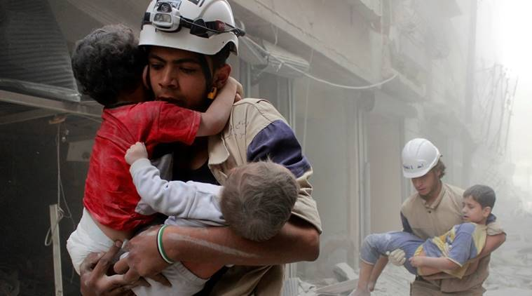 Aleppo, military operation aleppo, aleppo air strikes, air strikes, aleppo rebels, warplanes aleppo, Syria military, Russian air force, casualties, aleppo rescue workers, world news