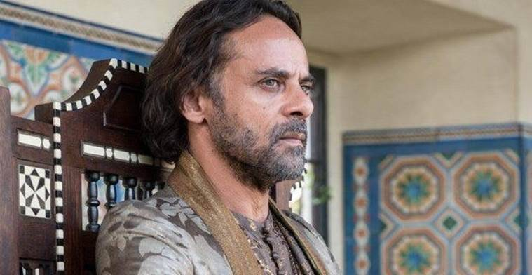 Alexander Siddig is unhappy about the unceremonious way his character was killed off in Game of Thrones.