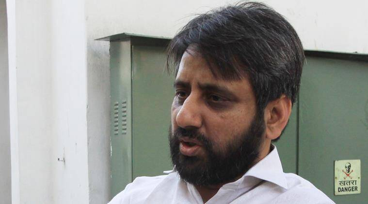 amanatullah khan, amanatullah khan resignation, manish sisodia amanatullah khan resignation, amanatullah khan sexual harassment, aap mla, aap mla sexual harassment, india news, indian express,