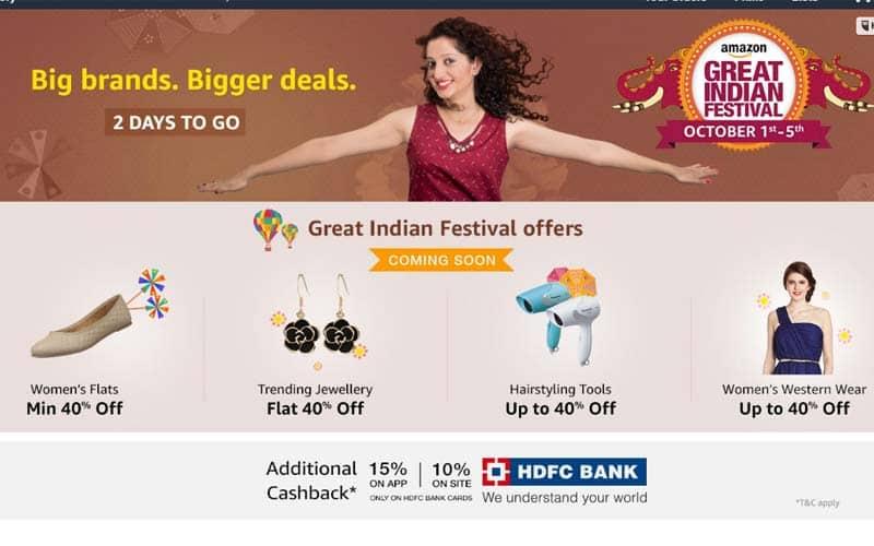 Amazon, Flipkart, Snapdeal, Flipkart Big Billion days offer, Amazon Great Indian sale, Amazon diwali sale, flipkart diwali sale, snapdeal diwali sale, Flipkart vs Amazon sales, Snapdeal Diwali sale, Snapdeal Unbox Diwali sale, Snapdeal diwali sale offers, Amazon India sale offers, Amazon Moto G4 Discounts, Amazon discounts, Flipkart Moto X discount, technology, technology news, Diwali discounts