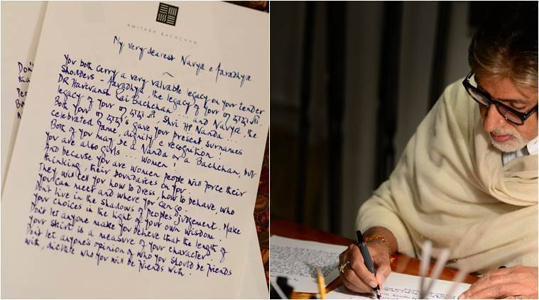 Here's why some people are angry with Amitabh Bachchan's letter to his granddaughters