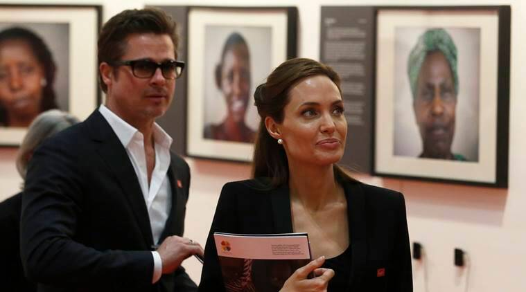 Angelina Jolie, Angelina Jolie brad pitt, Angelina Jolie divorce, Angelina Jolie brad pitt divorce, Angelina Jolie files divorce, BrAngelina, brAngelina divorce, Angelina Jolie brad pitt love affair, Entertainment, indian express, indian express news, celebrity romance, Angelina Jolie brad pitt romance, hollywood