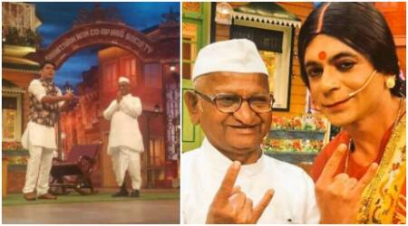 Social activist Anna Hazare to promote his biopic on The Kapil Sharma Show, see pics