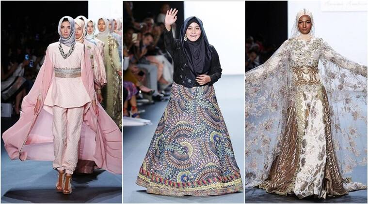 This Indonesian Designer Creates History With First Hijab Style Collection At Nyfw Lifestyle News The Indian Express