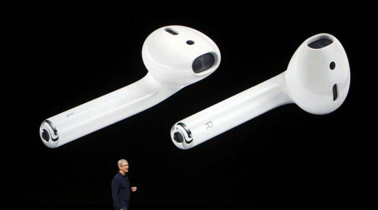 Apple, Apple airpods, Apple airpods features, apple airpods functions, airpods features, airpods functions, macOS Sierra, watchOS 3, iOS 10, iPhone 7, Iphone 7 accessories, apple airpods india, apple airpods price, apple airpods india price, technology, technology news, indian express