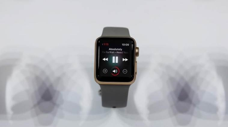 Second generation Apple watch is